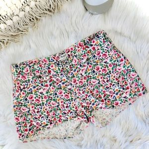 Floral madewell shorts